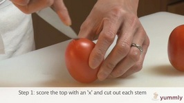 Tips To Peel & Seed A Tomato