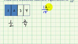 Ex 1:  Determine Equivalent Fractions to a Given Fraction