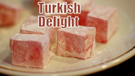 Eating Turkish Delight and Drinking Turkish Tea in Istanbul