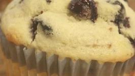 Lemon Flavor Blueberry Muffin