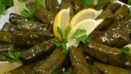 Lebanese Stuffed Grape Leaves
