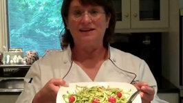 No Carb Zucchini Pasta Salad