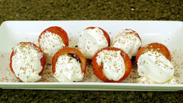 California Giant Stuffed Strawberries