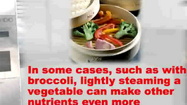 Nurtritional Value Of Steaming Vegetables and Serving Suggestions