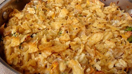 Salmon And Potato Chip Casserole