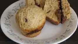Easy to Make Dessert - Coffee Muffins with a Surprise