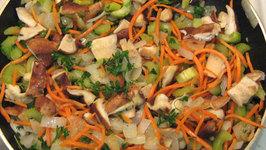 Thanksgiving Cooking -Turkey & Stuffing - Part 1(Stuffing)