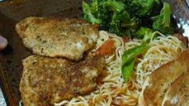 Pan Seared Parmesan Chicken
