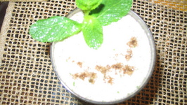 Salted lassi by Chef Sonali