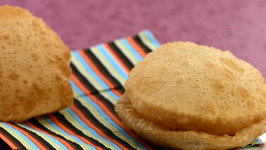 Puri (How to Make Poori) by Tarla Dalal