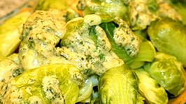 Brussels Sprouts In Celery Sauce