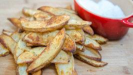 Garlic Herb Steak Fries