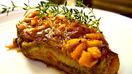 Pork Roast With Applesauce Salsa