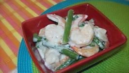 Shrimp in Coconut Milk