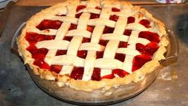 Microwave Cooked Cherry Pie