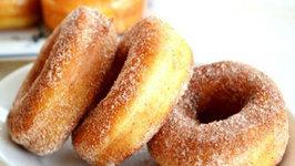 Potato Doughnuts With Cinnamon Sugar