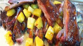 Hawaiian Style Pork Ribs BBQ