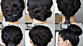 6 Simple No Heat Back to School or Work Hairstyles