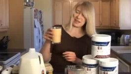 Raw Strawberry Pro Optimal Whey Protein Shake Recipe