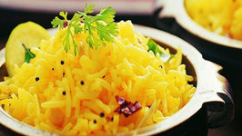 Lemon Rice by Tarla Dalal