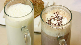 White Hot Chocolate and Spiced Hot Chocolate