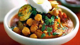 Lebanese Vegetable and Chickpea Tagine