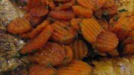 Microwave Glazed Carrots