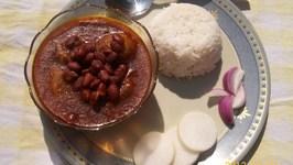 High-Fiber Gravy Of Kidney Beans and Turnips