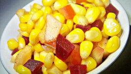 Corn Beet and Tomato Salad