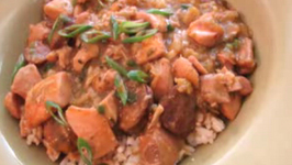 Cajun Style Andouille Sausage And Chicken Gumbo
