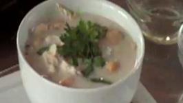 Thai Chicken & Galangal Coconut Cream Soup