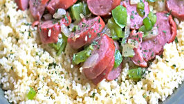 Cajun Kielbasa Couscous - We Killed this for lunch