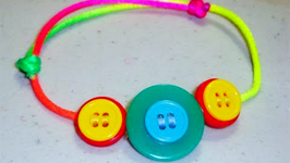 How To Make A Chinese Adjustable Knot Button Bracelet