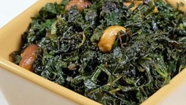 Seasoned Kale with Nuts