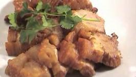 Thai Deep Fried Crispy Pork Belly