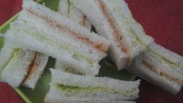 Tri Colored Sandwich