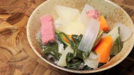 Filipino Sour Soup - Corned Beef Sinigang Sampalok