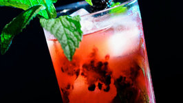90 Second Blackberry Mojito