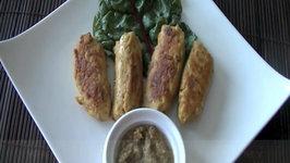 How to Make Chicken Kathi Kabobs  Chicken Kabobs
