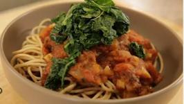 Homemade Pumpkin Spaghetti Sauce
