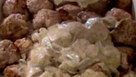 Swedish Meatballs with Mushroom Sauce