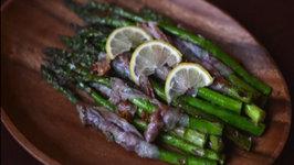 Grilled Aspragus with Bacon