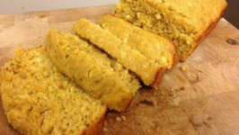 Holiday Baking Ideas - Pumpkin Banana Bread with Cream Cheese