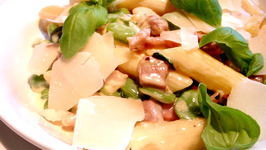 Penne Pasta with Pancetta