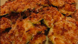 Betty's Baked Zucchini Chips -- Recipe by Michelle Hopkins (Poenut)