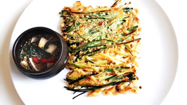 Korean Green Onion Pancake