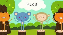 Head and Shoulders Knees and Toes  Nursery Rhymes