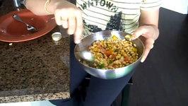 Soybean Salad / Healthy Salad / Indian Salad
