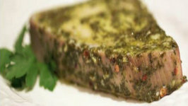 Chimichurri Sauce Baked Tuna Steaks