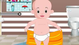 Edewcate English Rhymes : After a Bath